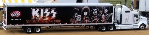 KISS Dr Pepper Truck